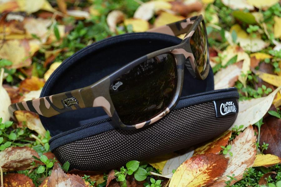 698966febbb8 FOX Chunk Sunglasses Camo Brown lense - MemelCarp tackle