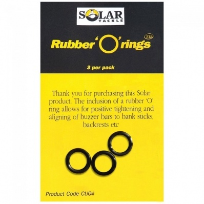 SOLAR TACKLE ' O' Rings Large