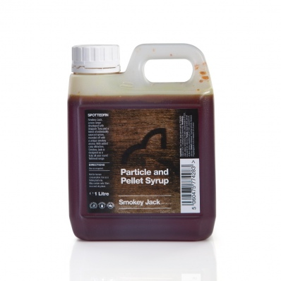 SPOTTED FIN Smokey Jack Particle and Pellet Syrup 1ltr
