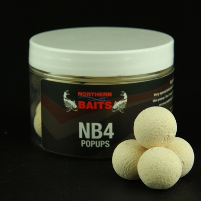 NORTHERN BAITS NB4 Creamy Wild Fruit popups 15mm white