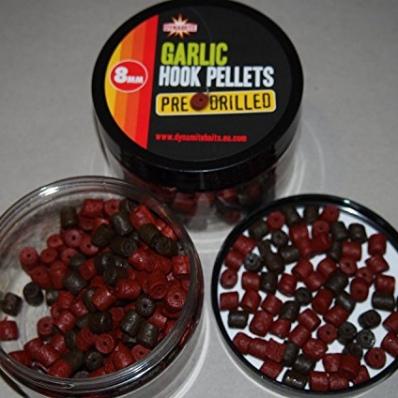 Dynamite Baits Pellets Pre-Drilled Hook Pellets 350g Garlic 8mm 23,11EUR//kg