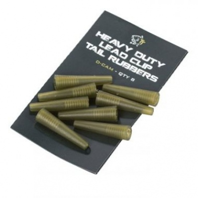 NASH TACKLE Heavy Duty Lead Clip Tail Rubbers