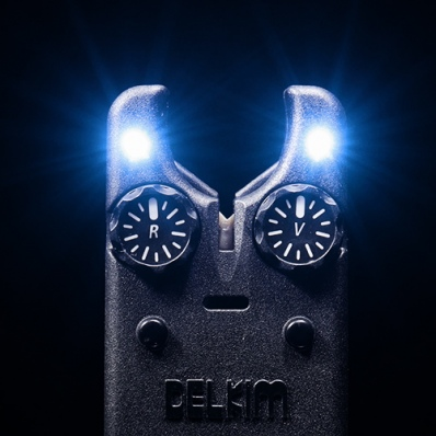 DELKIM Txi-D Bite Alarm Electric Blue