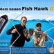 IMPERIAL BAITS Fish Hawk GTM- Temperature and Depth Meter
